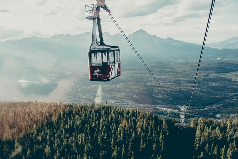 Jasper Skytram - Get the ultimate Edmonton to Jasper Itinerary and guide, with a comprehensive list of things to do in Jasper and places to visit in Jasper National Park.