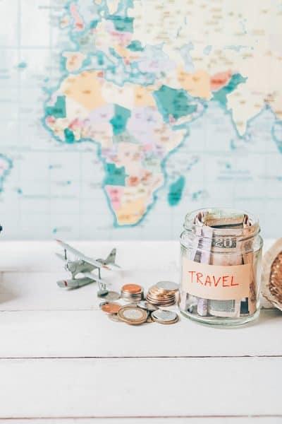 Ways to start a Travel Fund - Image of savings jar