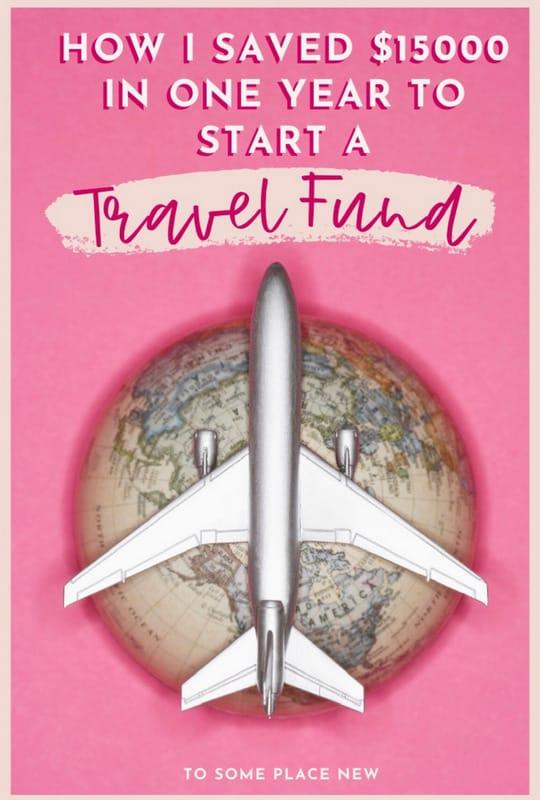 Pin for Travel Savings Tips - start a travel job