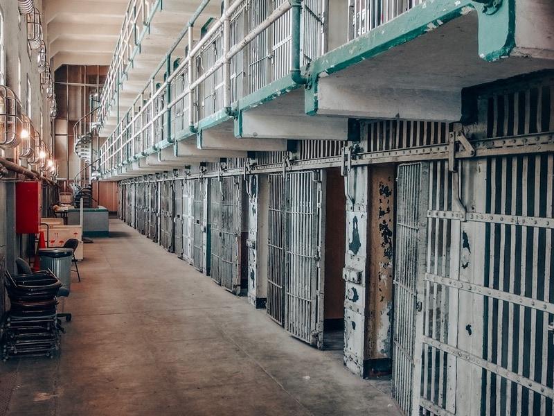 Inside cells of Alcatraz Jail