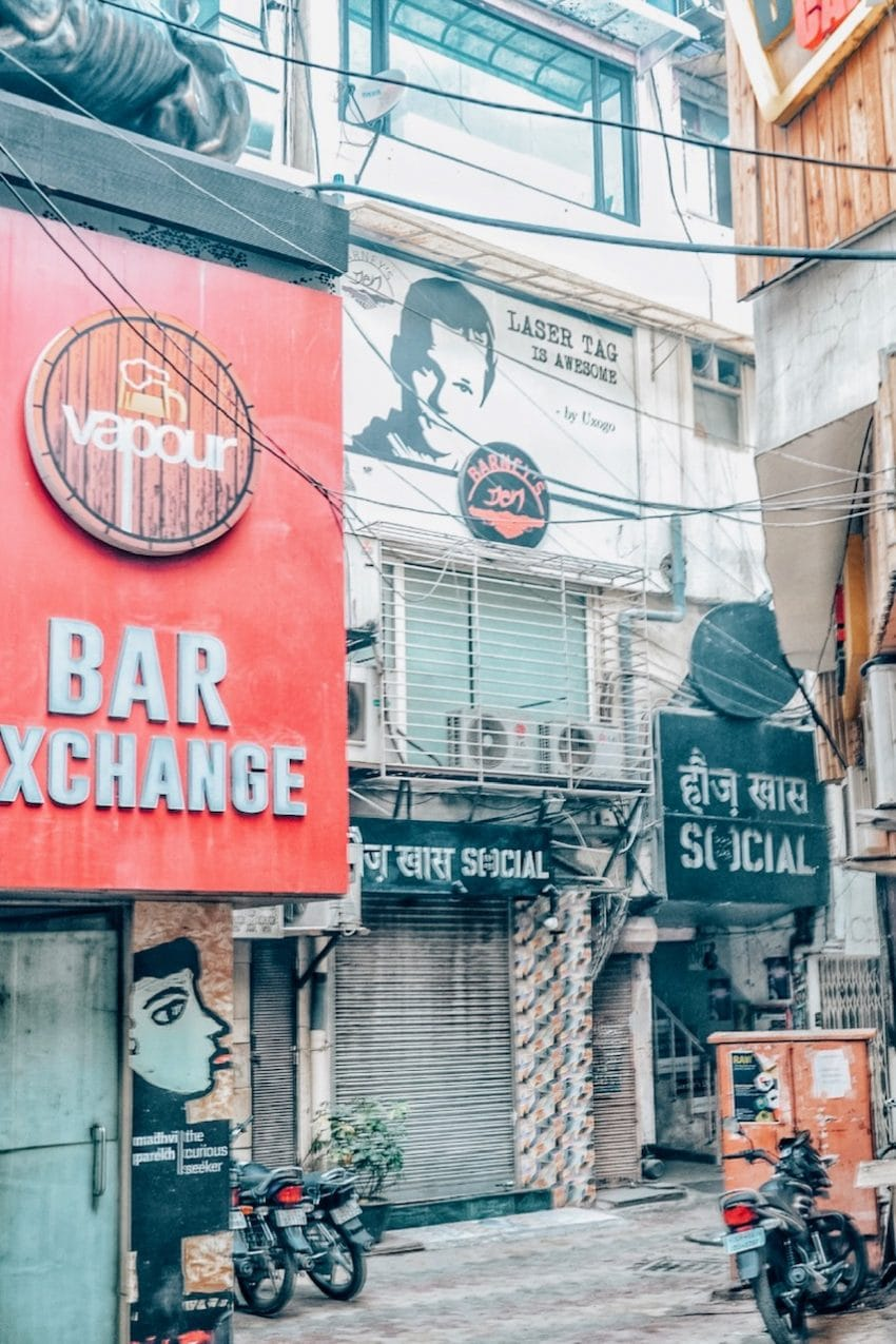 Hauz Khas Complex and stores