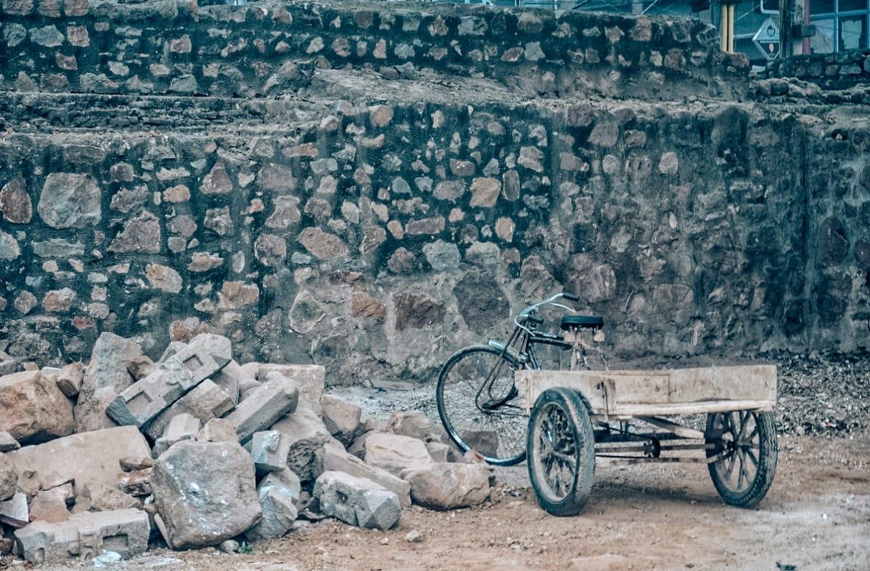 Ruins in Hauz Khas