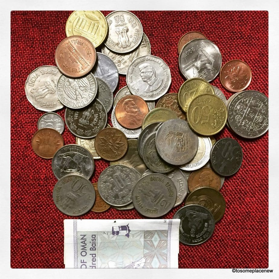 Coins Travel Souvenirs to Collect