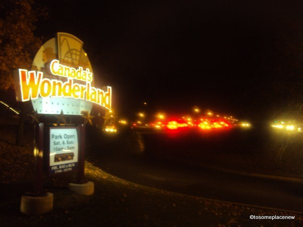 Toronto Series Part 2: Canada's Wonderland – on Halloween
