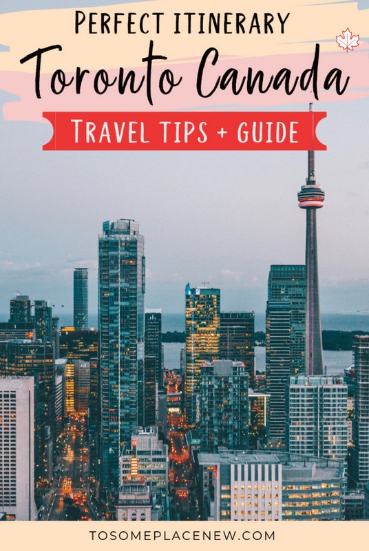 7 days in Toronto Itinerary