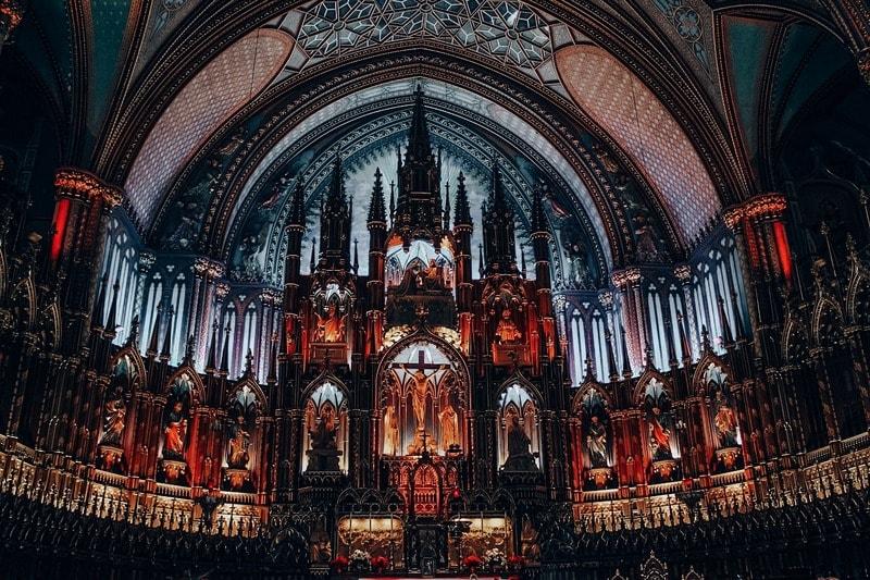 Notre Dame Basilica Interiors