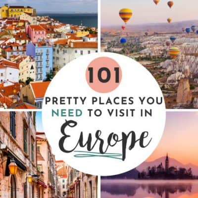 101 Ultimate European Bucket list items to add today