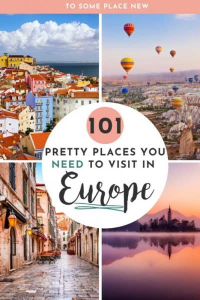 Ultimate European Bucket list Items