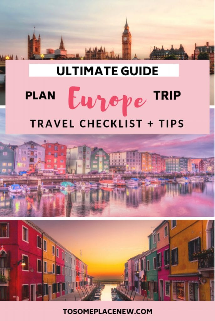 Europe Tips and Tricks for destinations planning. Get ready for an Europe adventure for a trip of a life time - get travel tips on saving money, finding cheap flights, packing lists and must carry travel products and more #traveltips #traveldestinations #europe
