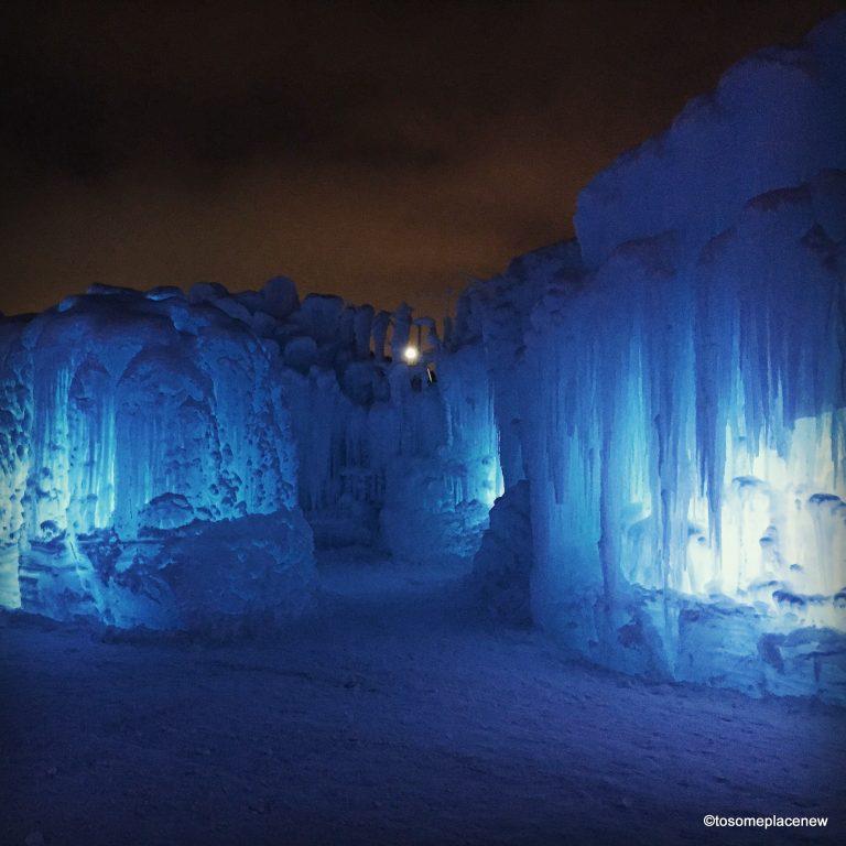 Experience Ice Castles Edmonton