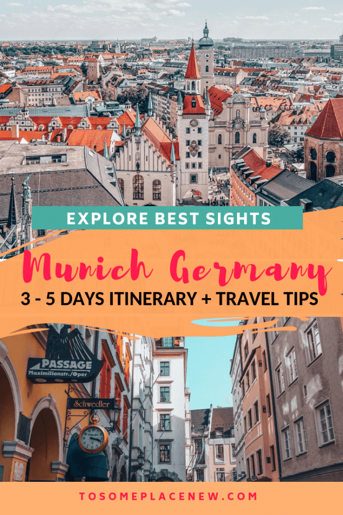 Munich things to do in 5 days. Get Munich Germany travel guide with sightseeing spots like Marienplatz, English Gardens, and day trips from Munich to Dachau, Neuschwanstein Castle, Nuremberg and more. Best 5 days in Munich Itinerary #munich #germany