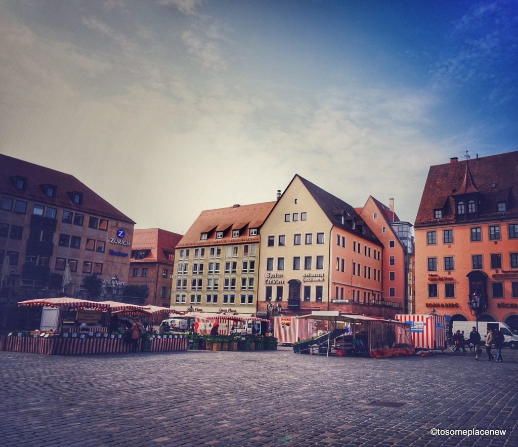 One day Itinerary to the German town of Nuremberg. Explore the centrum and the beautiful lanes of the medieval town!