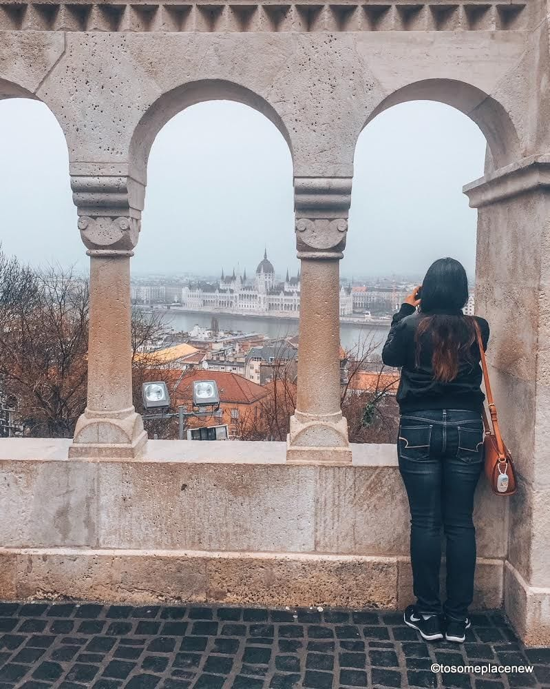 Views from the Buda Castle - Explore the Hungarian Capital city of Budapest in 2 days - this is your perfect Budapest Itinerary covering historical sites, city life and a dinner cruise