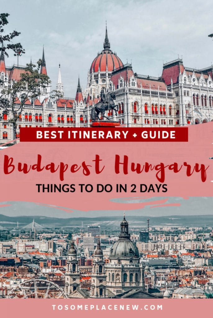 Budapest Hungary things to do in 2 days | Get the best things to do in Budapest Itinerary 2 days | Budapest Hungary ruin bars | Budapest Hungary beautiful places to visit at every season | Budapest Hungary Parliament #europe #budapest #traveldestinations