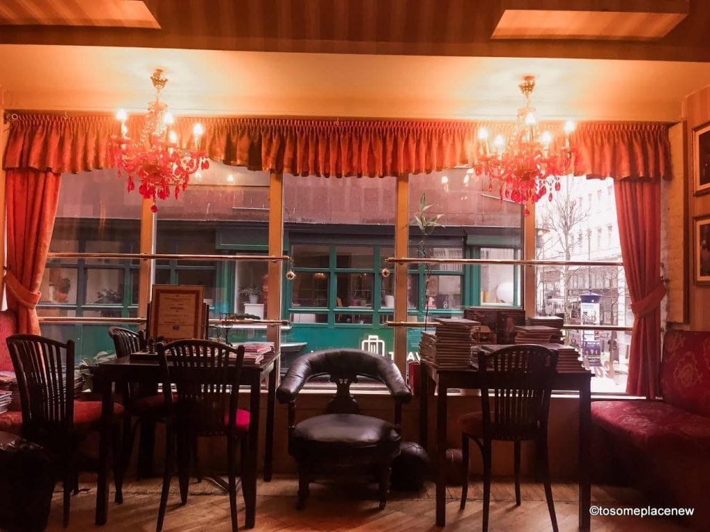 Casablanca Restaurant - We decided to spend the evening there as it started to rain outside. Rain makes this city even more beautiful and serene. New York Cafe is considered as one of the world's beautiful cafes. Check out the interiors to know why.