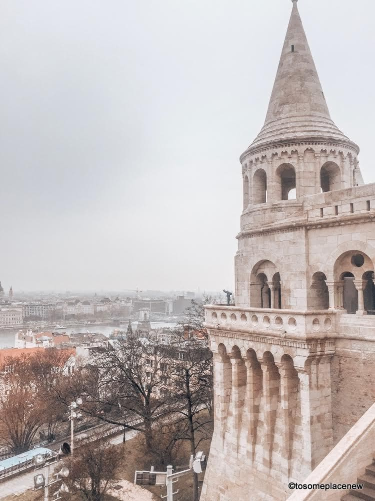 Fisherman's Bastion, Budapest - Explore the Hungarian Capital city of Budapest in 2 days - this is your perfect Budapest Itinerary covering historical sites, city life and a dinner cruise
