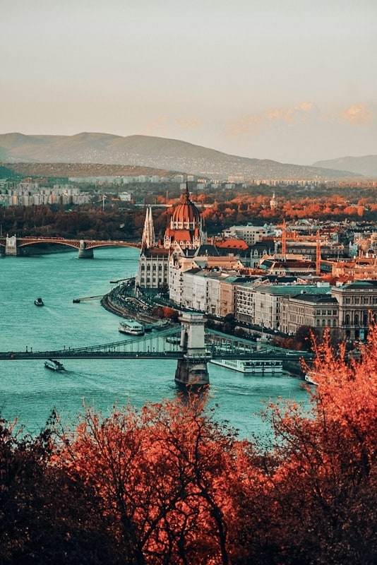 Scene of Budapest Best Danube River Cruise Reviews and more