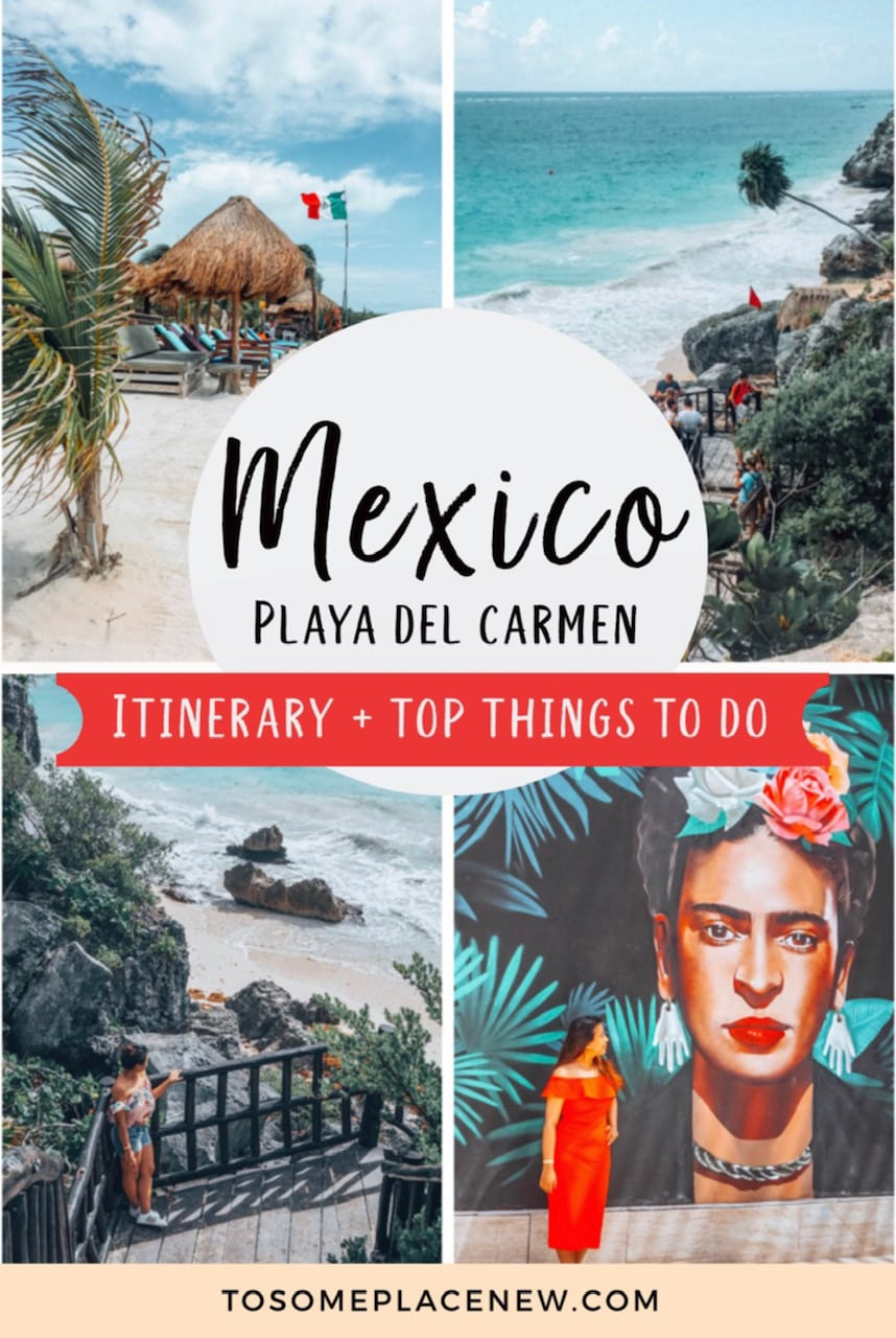 Best Things to do in Playa del Carmen Itinerary