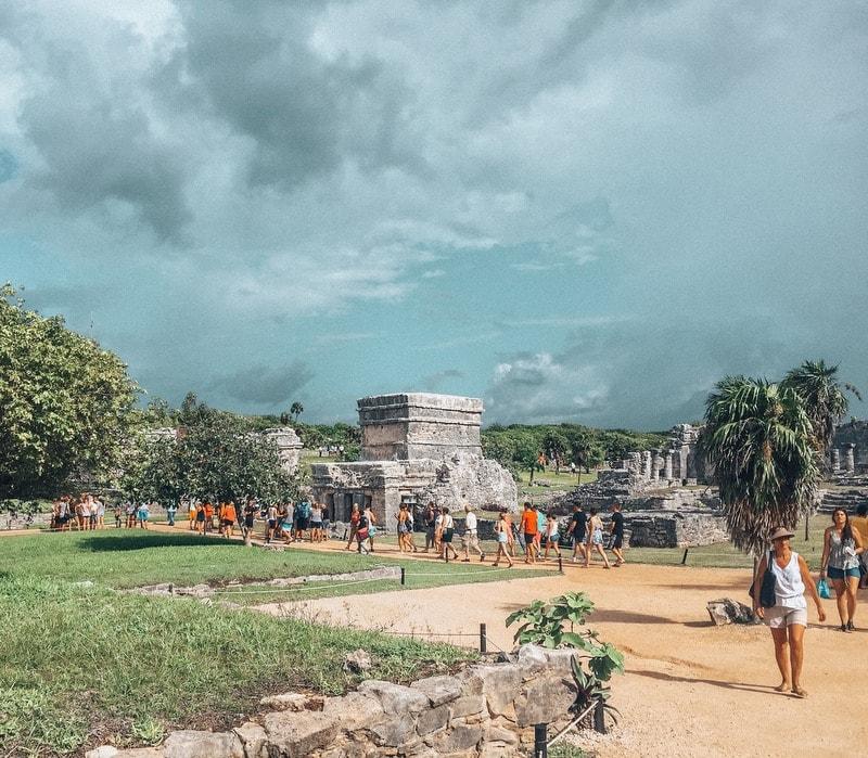 Tulum Ruins - Mexico Playa del Carmen Itinerary