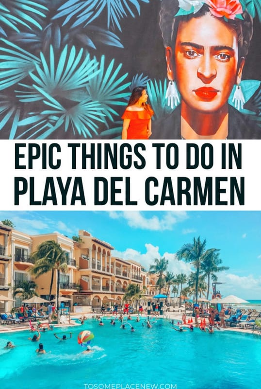 Guide to Playa del Carmen itinerary and activities
