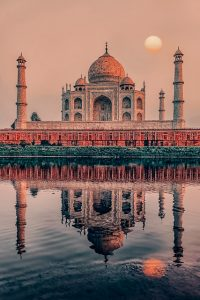 Taj Mahal in Agra - Most beautiful cities in India