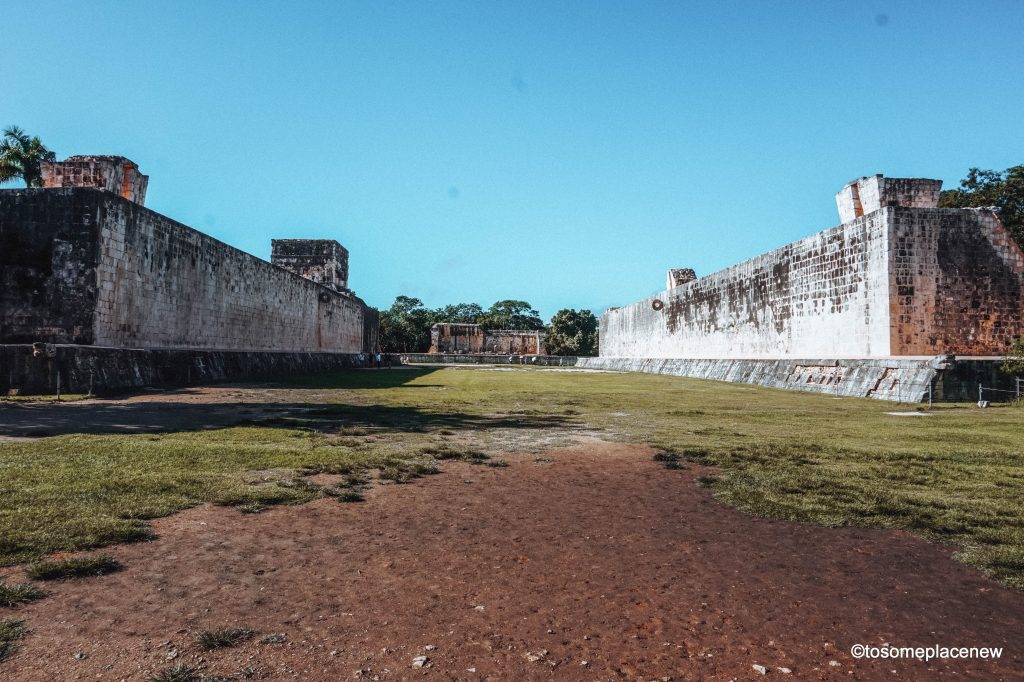 The Great Ball Court at Chichen Itza. Exploring the Mayan Ruins of Chichen Itza, Mexico. Read all about its history, travel tips and itinerary. A quick guide to Chichen Itza, one of the wonders of the modern world.
