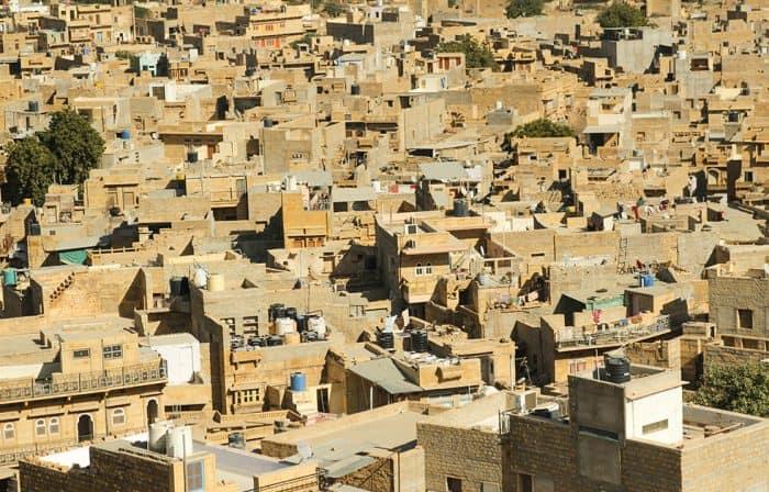 Jaisalmer Most beautiful cities in India