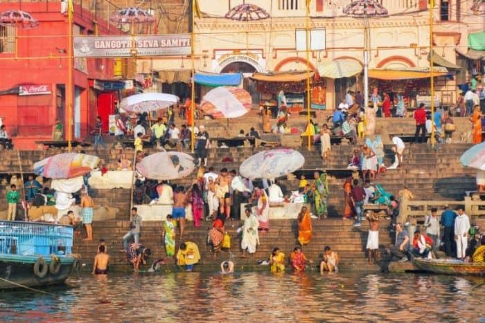 Varanasi, India amazing places to visit