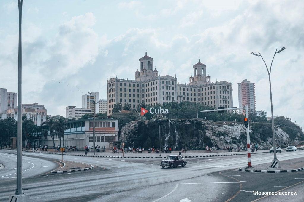 Cuba Sign- at the Nacional Hotel - tosomeplacenew