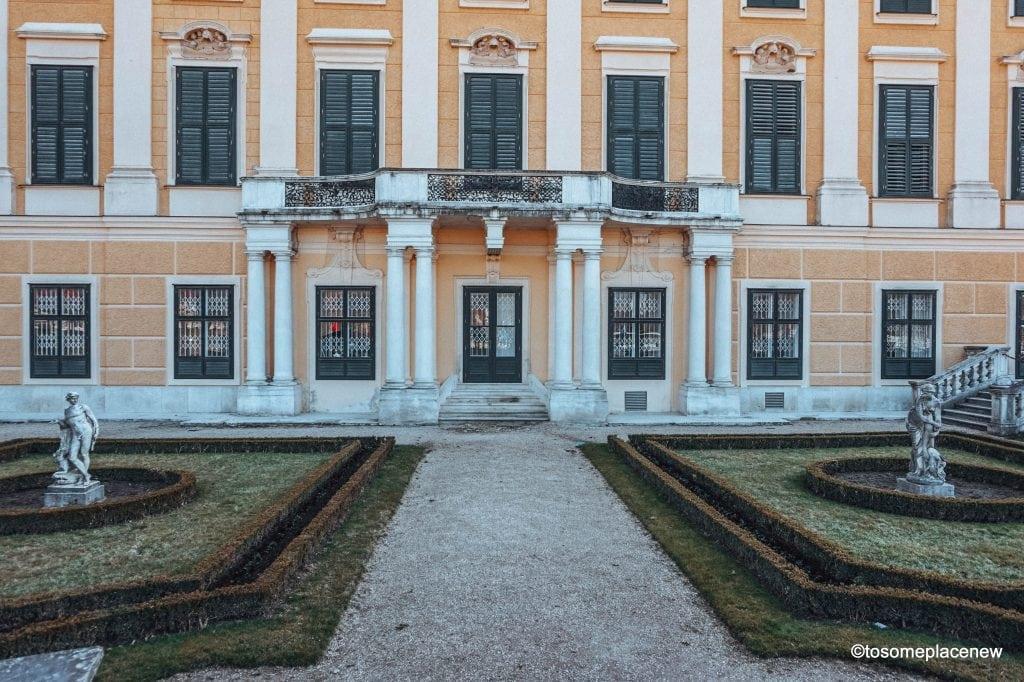 Schönbrunn Palace of the Habsburg rulers