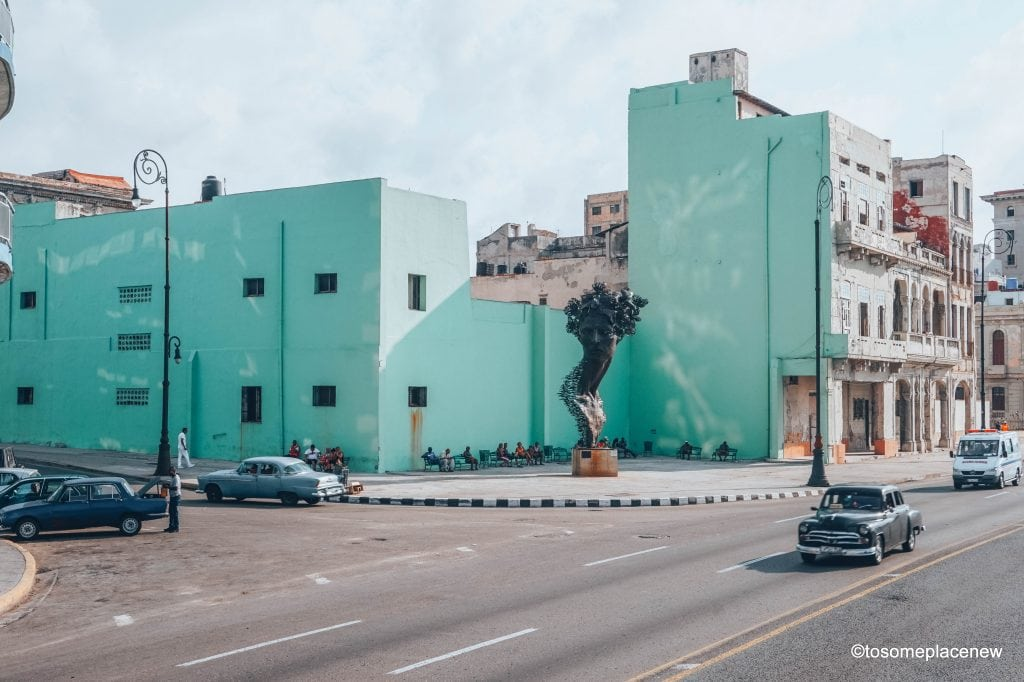 Contemporary Art structures in Havana. 45 Beautiful pictures of Havana Cuba. Every street in Havana tells an interesting story. Include these stunning spots to your Cuba travel itinerary.