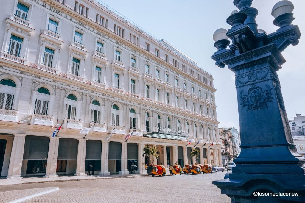 Hotels in Old Havana. Beautiful Cuba Pictures of Havana. Havana is a photographer's dream and every street in Cuba showcases the interesting past, its beautiful people and amazing architecture #havana #cuba
