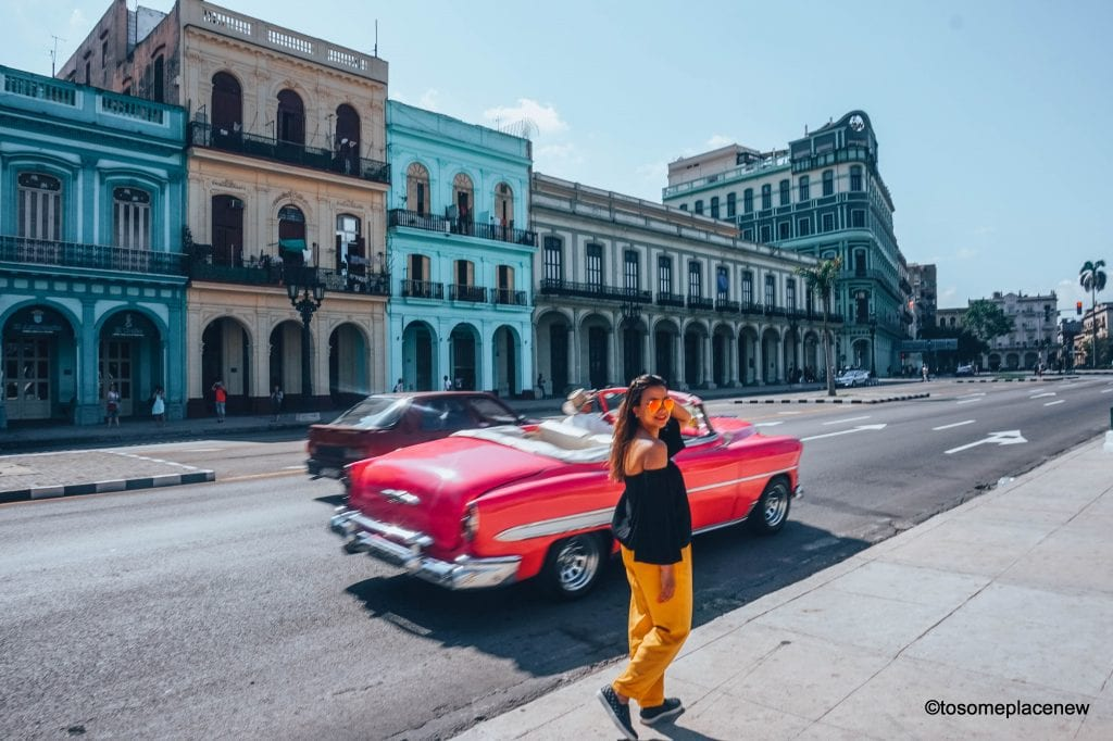 Beautiful pictures of Havana Cuba. Havana is a photographer's dream and every street in Cuba showcases the interesting past, its beautiful people and amazing architecture. Be sure to add these spots to your Cuba travel itinerary.  #havana #cuba