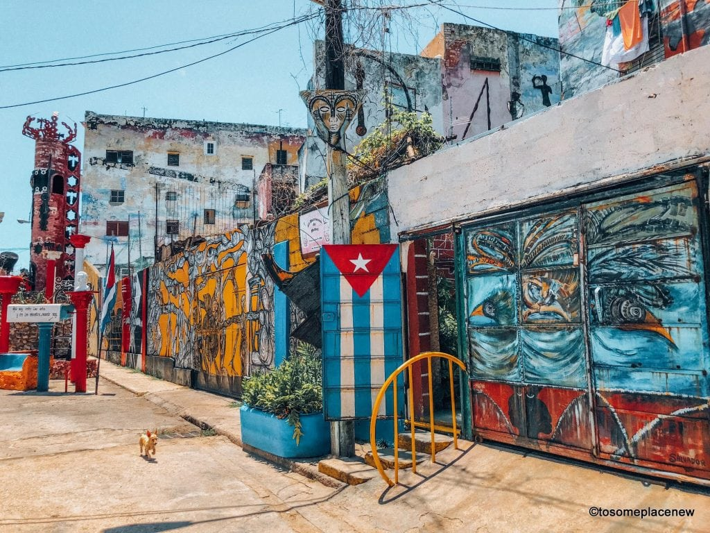 Hamel Alley Havana. Beautiful Pictures of Havana Cuba. The Ultimate guide to Havana Cuba is here! The one stop for all things Havana - sightseeing, local experiences, restaurants and other travel tips #havana
