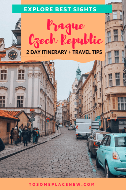Prague Itinerary 2 days | Prague Travel Tips | Prague Czech Republic Things to do in 2 days - Visit Old town square, Charles Bridge, Prague Castle and other bucket lists items | Prague in 48 hours