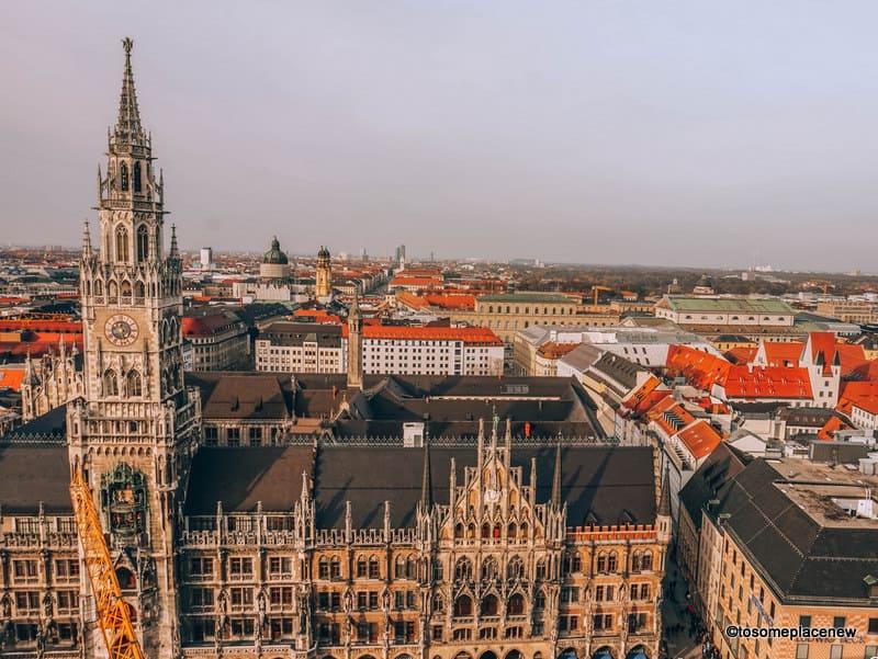 Marienplatz Munich Old Town - Views of New Town Hall