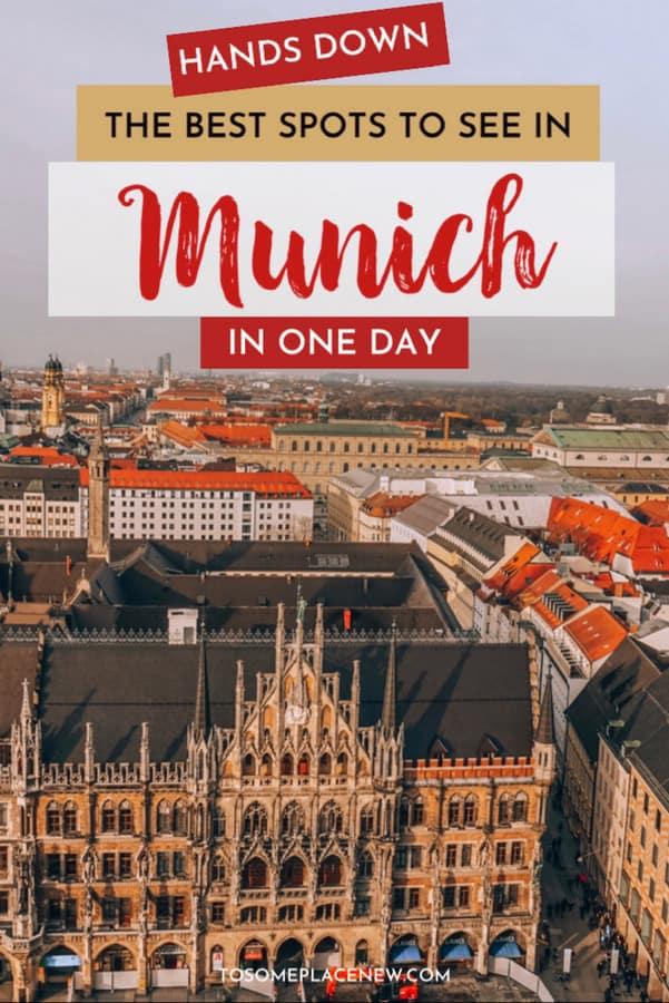 Marienplatz Munich Old Town Munich in a day