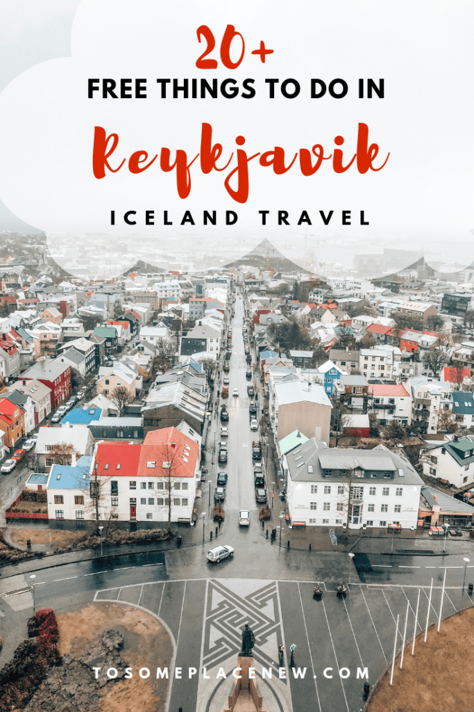 Get the 20+ free things to do in Reykjavik, perfect for a stopover for one day in Reykjavik Itinerary or more. A budget friendly way to see more of Iceland. #Reykjavik #icelandtravel