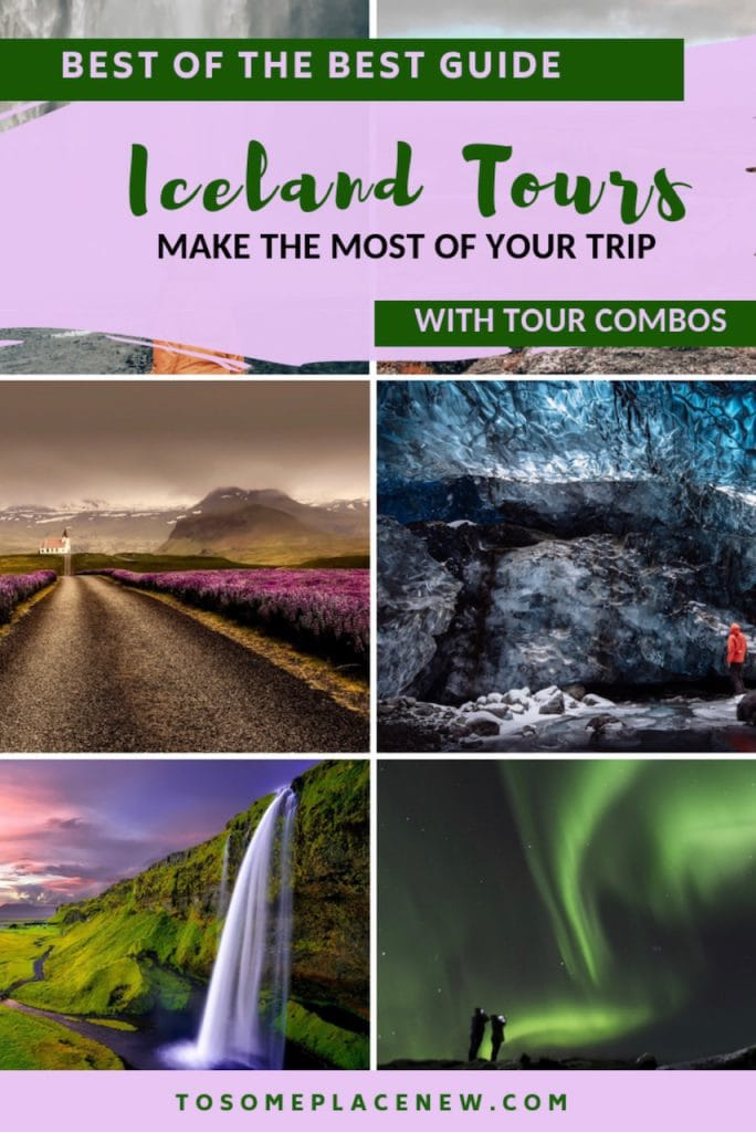 Best Iceland tour adventures for all seasons - Iceland tours winter with aurora borealis, Northern lights, Iceland ice caves, Iceland tours summer, hot springs and bucket list travel destinations and more.