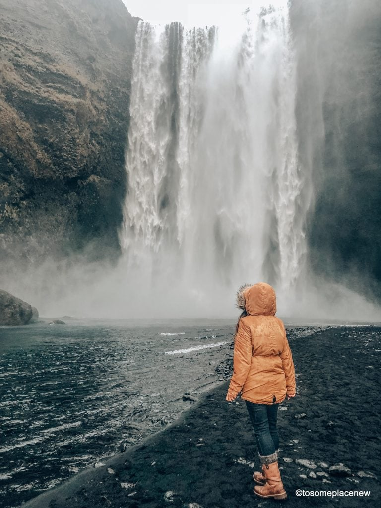 Skogarfoss Chase waterfalls & northern lights,soak in geothermal spas, meet horses & pluffy sheeps & explore Reykjavik's colorful lanes in your 3 day Iceland Itinerary