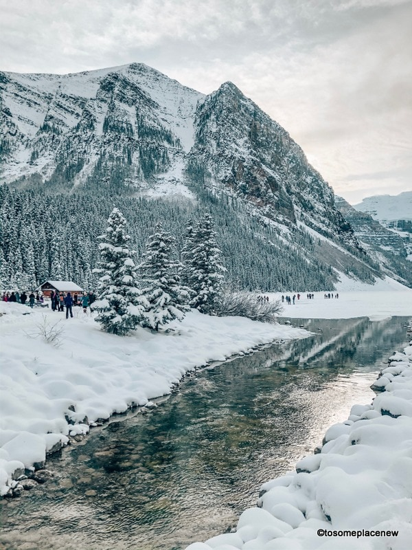 Banff and Lake Louise in winter