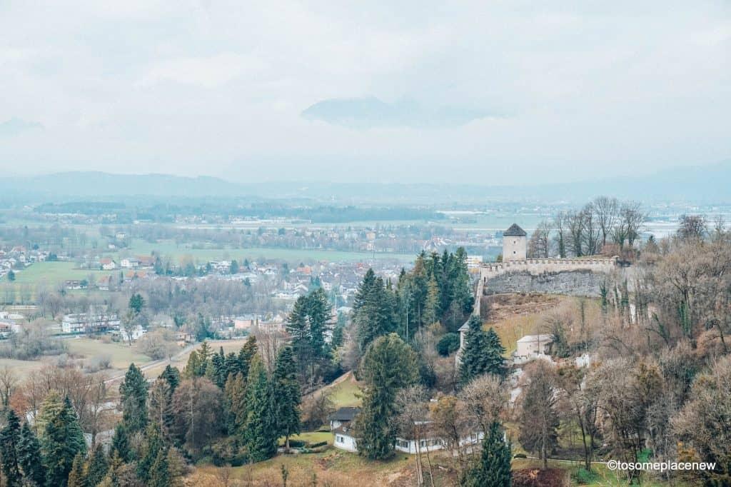 Views from Hohensalzburg Fortress Salzburg Austria