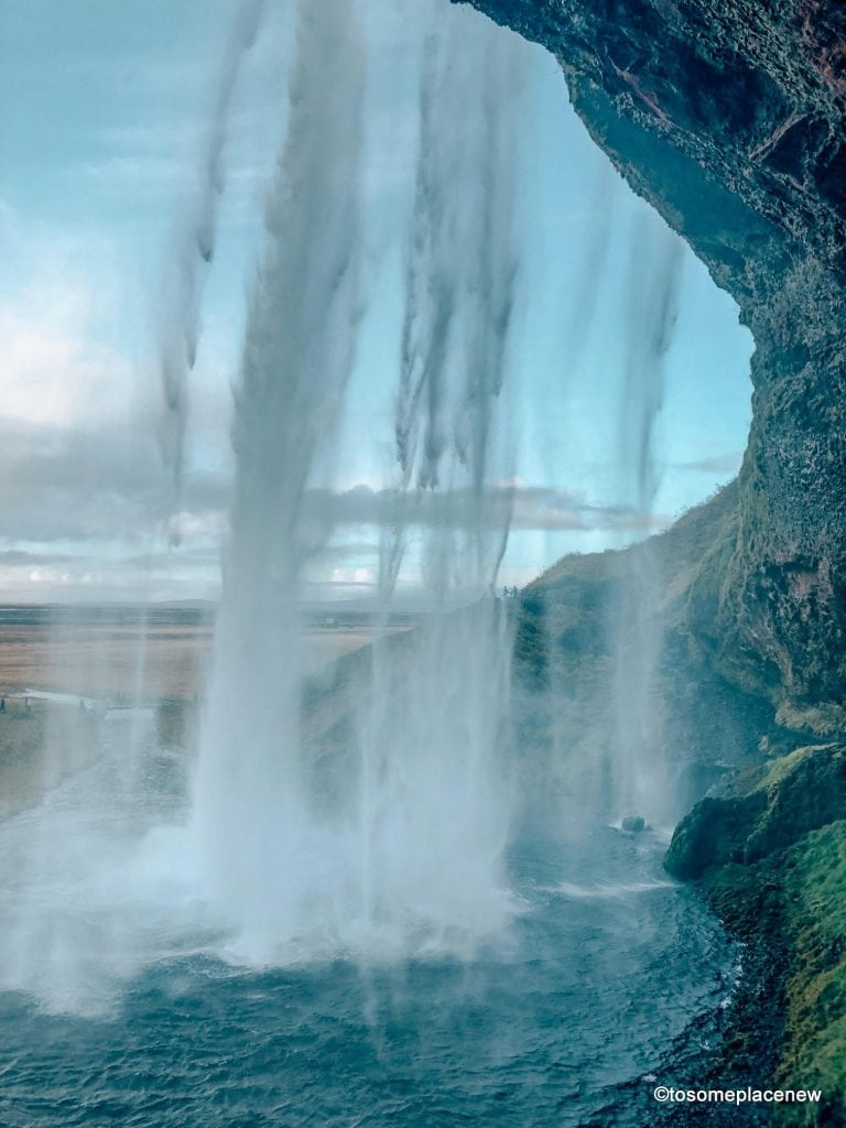 Seljalandsfoss Chase waterfalls & northern lights,soak in geothermal spas, meet horses & pluffy sheeps & explore Reykjavik's colorful lanes in your 3 day Iceland Itinerary