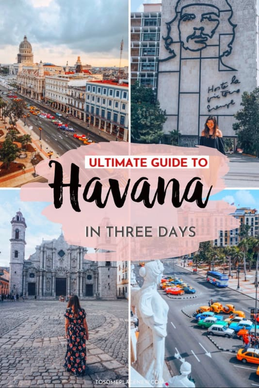 Guide to 3 days in Havana Itinerary
