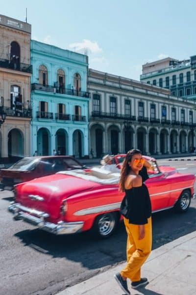 Wandering through the colorful lanes in3 days in Havana Itinerary