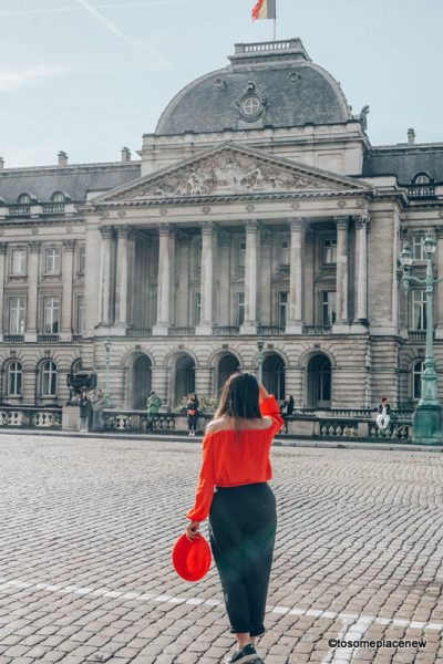 Brussels Belgium things to do in one day itinerary trip. Explore the Brussels Belgium grand place, comic strip, royal palace, try Belgium waffles and other food! Get some Brussels Belgium photography tips and spot ideas for your trip