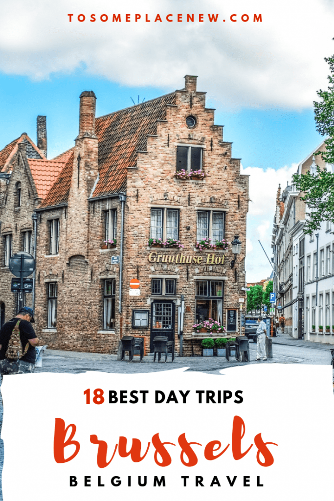 Get the best day trips from Brussels for your Belgium Itinerary. Explore it as a guided day trip from Brussels or take the train or drive. All details here! #brussels #belgium