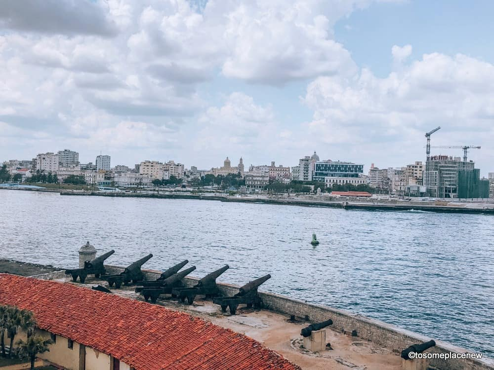 Views from El Morro Havana Itinerary