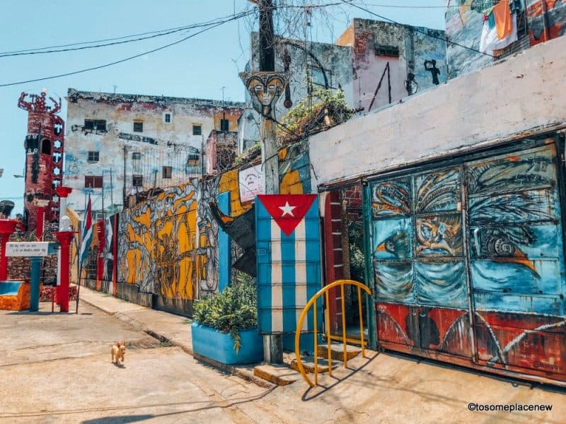Hamel Alley Havana Itinerary