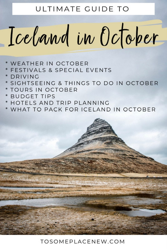 Iceland in October and why it is the best time to visit Iceland. Find all the things to do in Iceland in October like northern lights, events and Iceland packing tips for October